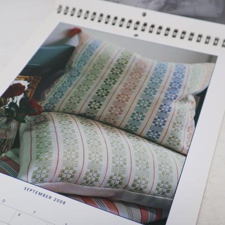 【古本】B2_162 VÄVKARENDAR 2008 カレンダー