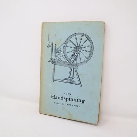【古本】B2_291 Handspinning / ELSIE G.DAVENPORT