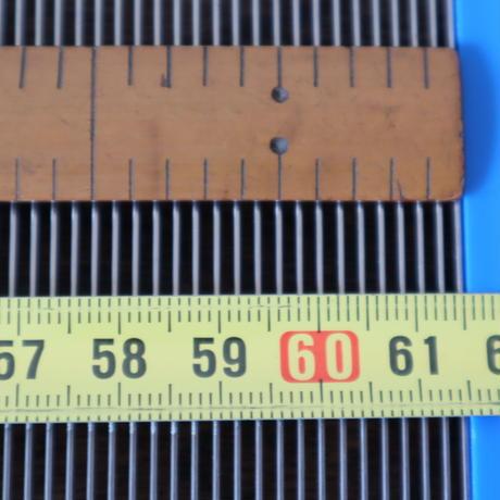 N052【USED】ステンレス筬 48羽  63.5cm 内寸61.5cm