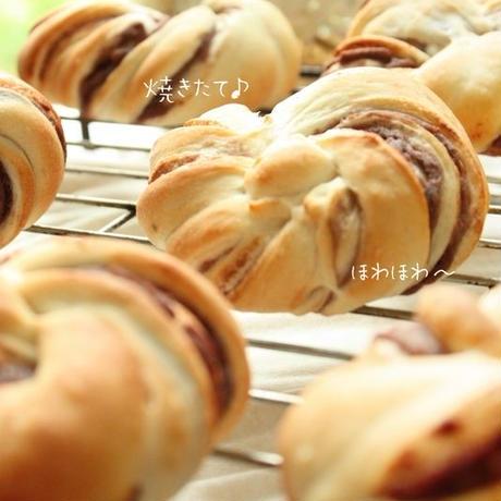 日光花パン*あずき/1set 2個