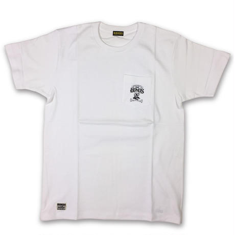 BONDS American devil pocket Tシャツ ホワイト