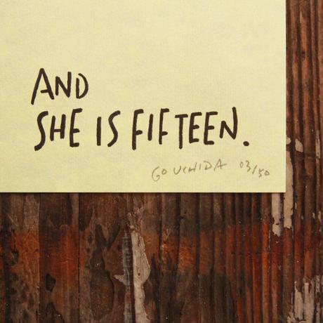 【額付】スコットランド七編詩「And She Is Fifteen」