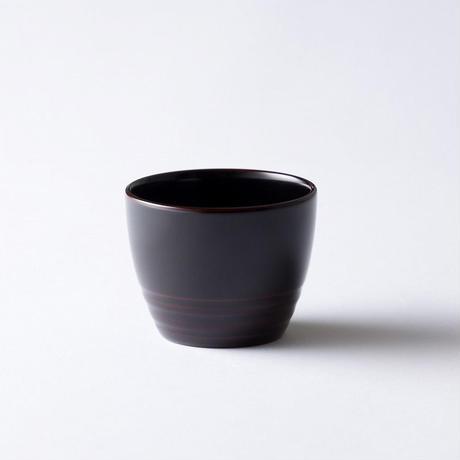 湯呑み yunomi 溜塗り