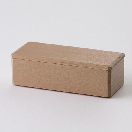 長手角のお弁当箱