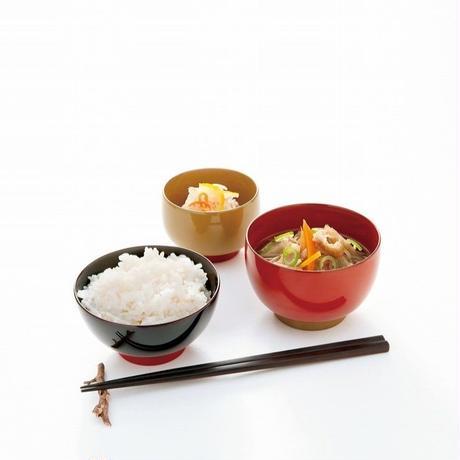 飯椀 meshi-wan 溜塗り