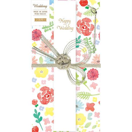 VK154祝儀袋 花 フローラル