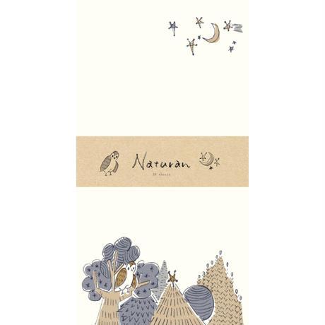 LI183  Naturan  一筆箋 宵の月