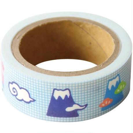 QMT18 そえぶみ箋 ますきんぐテープ ふじやま