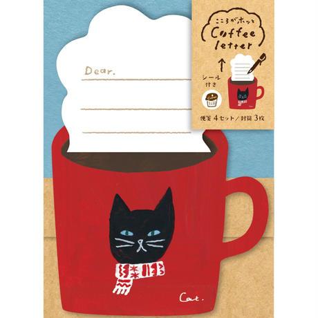 LT348  コーヒーレター ネコ   (03119)