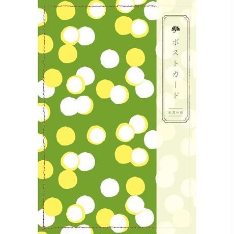 HR29 ポストカード 月灯り 緑