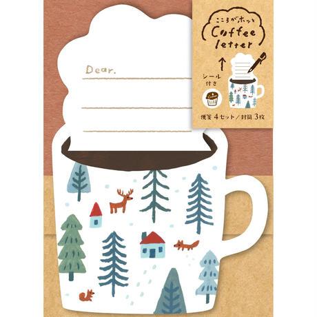 LT347  コーヒーレター ゆきの日   (03118)