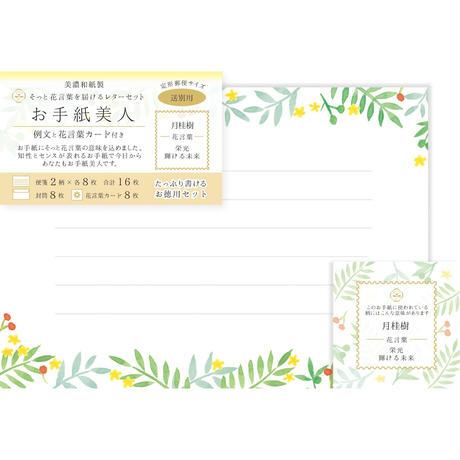 LT306お手紙美人 送別用 月桂樹