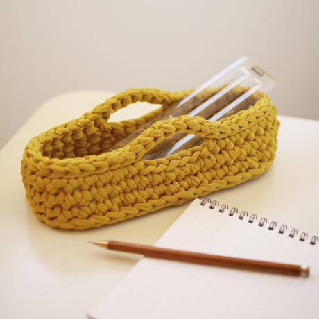 【満席】ワークショップ@砺波(5/17)「フィンランドの糸で編むカトラリーケース」お申し込み