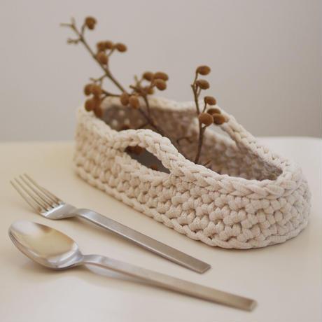 【受付中】ワークショップ@砺波(5/16)「フィンランドの糸で編むカトラリーケース」お申し込み