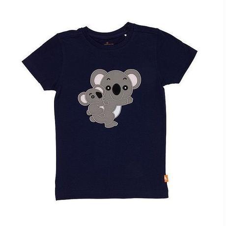 キッズ Tシャツ コアラ ネイビー 100%オーガニックコットン GOTS認定  のコピー