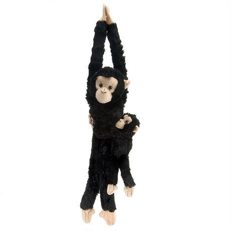 ぶらさがり チンパンジー 親子 15265