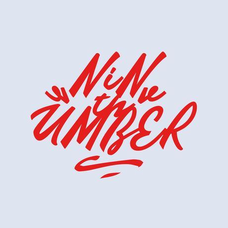 "UMBER 9周年Tシャツ ""NEON"" L/S"