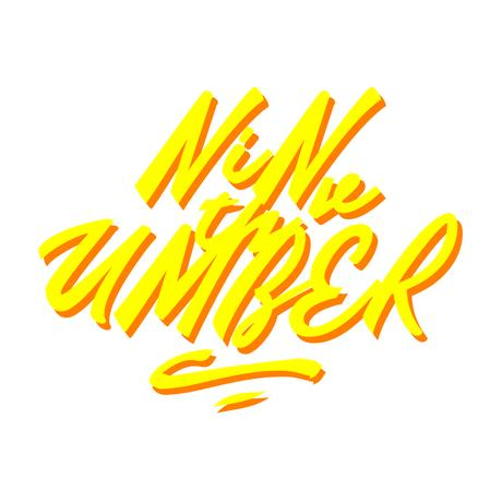 "UMBER 9周年Tシャツ ""NEON"""