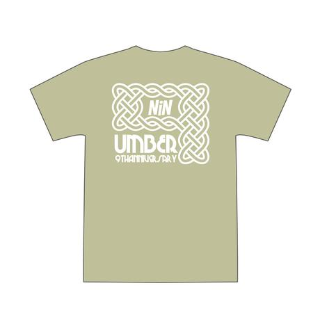 "UMBER 9周年Tシャツ ""IVY"" SAND"