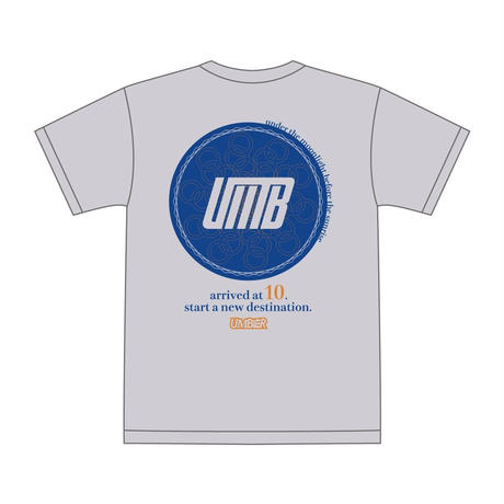 UMBER 10th Aniv T-shirt (Ash)