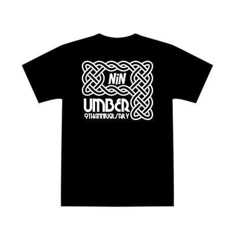 "UMBER 9周年Tシャツ ""IVY"" BLACK"
