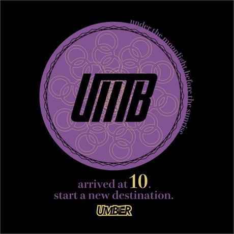 UMBER 10th Aniv T-shirt (Black)