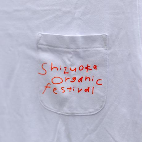 オーガニックコットンTシャツ バックプリント:SOFロゴ