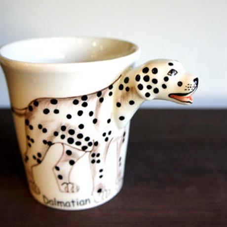 ★ 3D立体 アニマル マグカップ / Dalmatian (ダルメシアン) ★