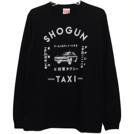 SHOGUN TAXI  LONG TEE [BLACK]
