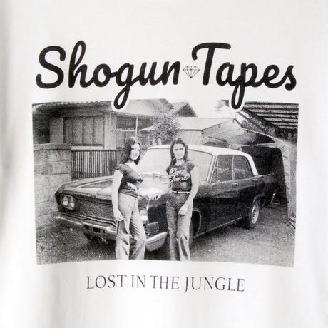 LOST IN THE JUNGLE  LONG TEE リブ [WHITE]