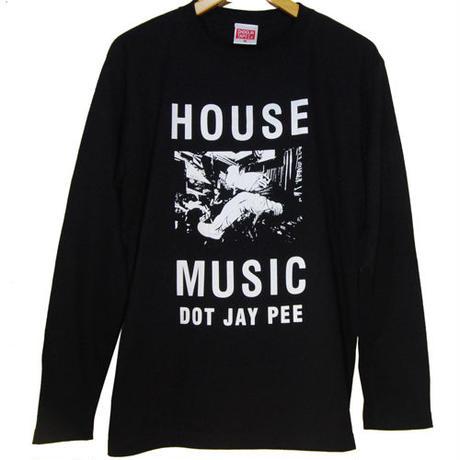 HOUSE MUSIC DOT JAY PEE ロングスリーブ