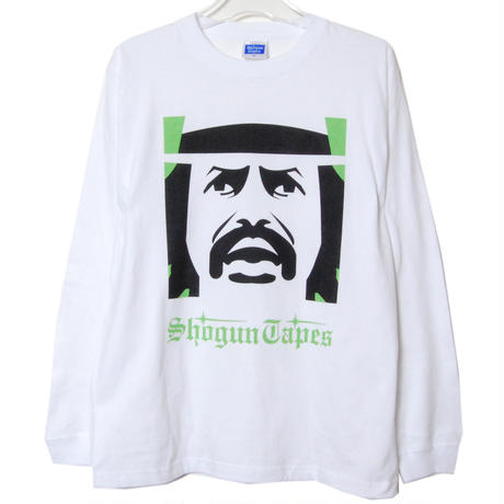 SHOGUN CHEECH  LONG TEE リブ [WHITE]