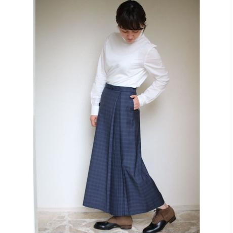 humoresque box pleated skirt