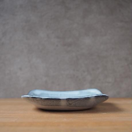 5寸角皿【グレー】