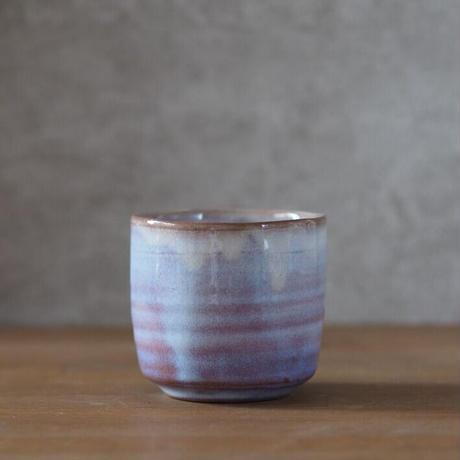 蕎麦猪口カップ・小【粉引紫】