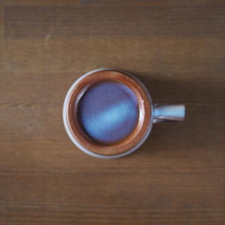 マグカップ【粉引紫】