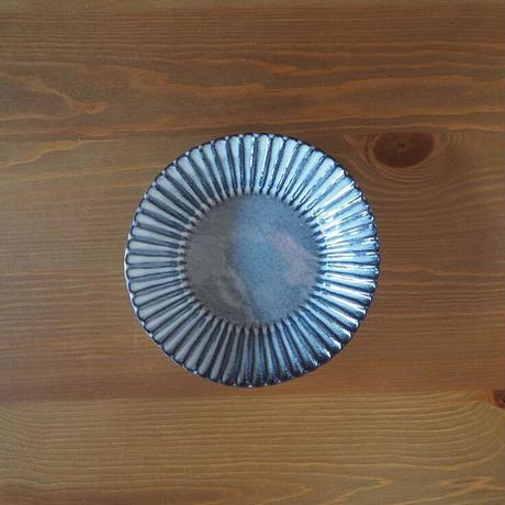 輪花6寸鉢【グレー】