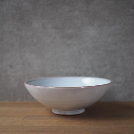 5寸浅鉢【白萩釉】