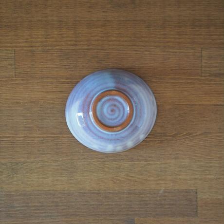 たわみ小鉢【粉引紫】