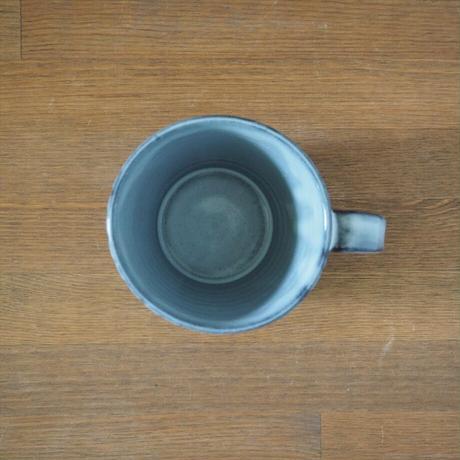 しのぎカフェオレカップ【グレー】