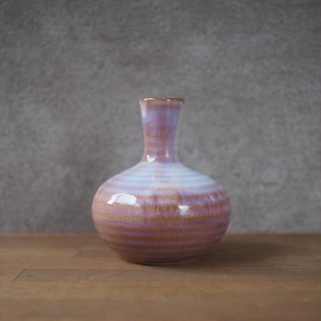 花瓶【粉引紫】