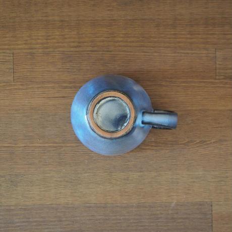 丸マグカップ【青萩釉】
