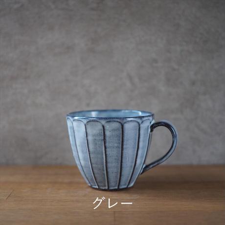 面取マグカップ 全5色