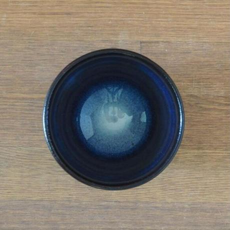 吹付煎碗【青萩釉】