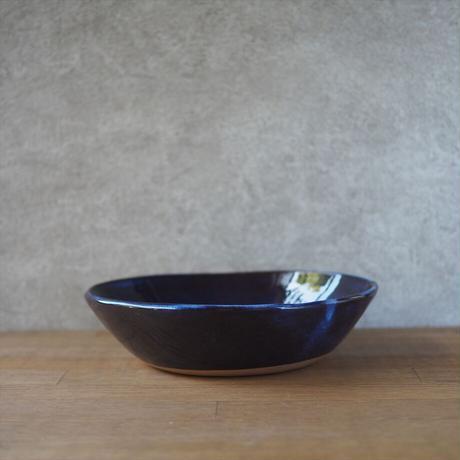 カレー皿・小【青萩釉】