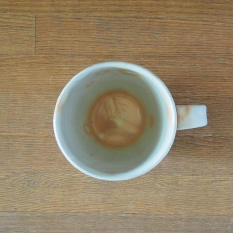 面取マグカップ(御本手)