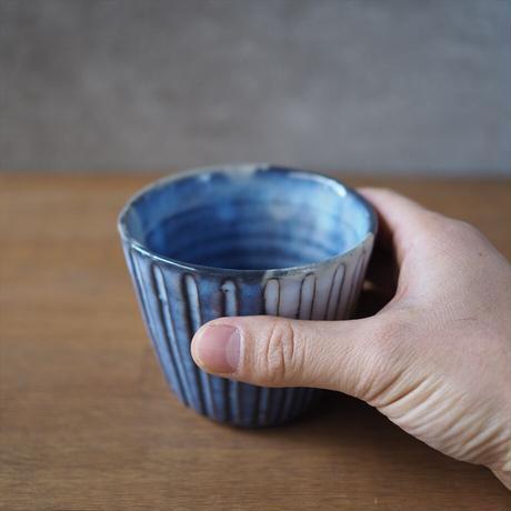 しのぎカップ【青萩釉】