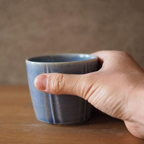 蕎麦猪口カップ【水色】