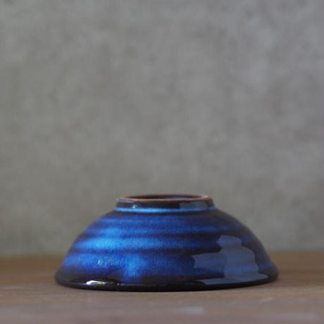 吹付小鉢【青萩釉】