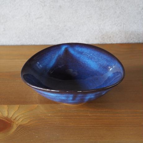 楕円小鉢・大【青萩釉、白萩釉、グレー、粉引紫】